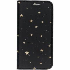 Winter-Design TPU Bookcase für das Samsung Galaxy S7