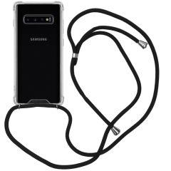 iMoshion Backcover mit Band Schwarz für das Samsung Galaxy S10 Plus