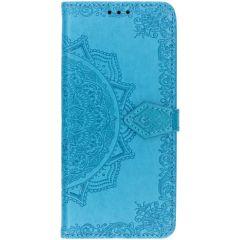 Mandala Booktype-Hülle Blau Samsung Galaxy S10 Plus
