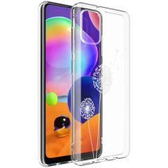 iMoshion Design Hülle Samsung Galaxy A31 - Pusteblume - Weiß