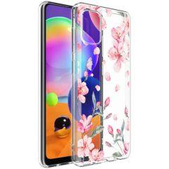 iMoshion Design Hülle Samsung Galaxy A31 - Blume - Rosa