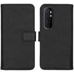 iMoshion Luxuriöse Buchtyp-Hülle Xiaomi Mi Note 10 Lite - Schwarz