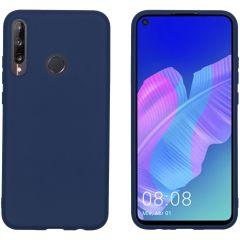 iMoshion Color TPU Hülle Dunkelblau für das Huawei P40 Lite E