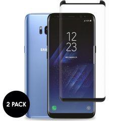 iMoshion Bildschirmschutzfolie Gerhard Glas 2er-Pack Galaxy S8