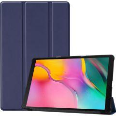 iMoshion Trifold Bookcase Blau Galaxy Tab A 10.1 (2019)