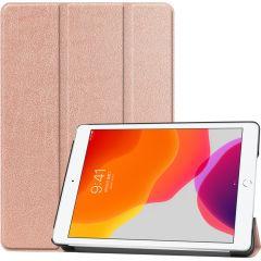 iMoshion Trifold Bookcase Rose Gold iPad 10.2 (2019 / 2020)