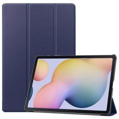 iMoshion Trifold Bookcase Samsung Galaxy Tab S7 Plus - Dunkelblau