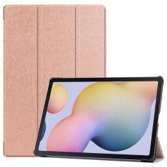 iMoshion Trifold Bookcase Samsung Galaxy Tab S7 Plus - Roségold