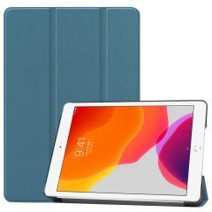 iMoshion Trifold Bookcase iPad 10.2 (2019 / 2020) - Dunkelgrün