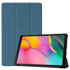 iMoshion Trifold Bookcase Galaxy Tab A 10.1 (2019) - Dunkelgrün