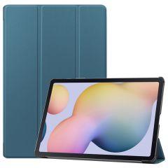 iMoshion Trifold Bookcase Samsung Galaxy Tab S7 Plus - Donkergrün