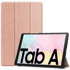 iMoshion Trifold Bookcase Samsung Galaxy Tab A7 - Roségold