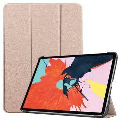 iMoshion Trifold Bookcase für das iPad Air (2020) - Gold