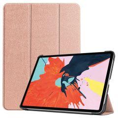 iMoshion Trifold Bookcase für das iPad Air (2020) - Roségold