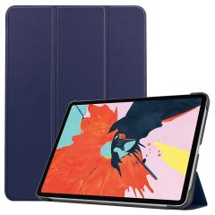 iMoshion Trifold Bookcase für das iPad Air (2020) - Dunkelblau