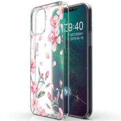iMoshion Design Hülle iPhone 12 Mini - Blume - Rosa
