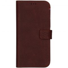 Decoded 2 in 1 Leather Booktype für das iPhone 12 Pro Max - Braun