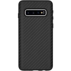 RhinoShield SolidSuit Backcover Samsung Galaxy S10 - Carbon Fiber Black