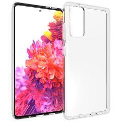 Accezz TPU Clear Cover Transparent für das Samsung Galaxy S20 FE