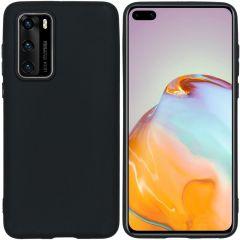 iMoshion Color TPU Hülle für das Huawei P40 - Schwarz