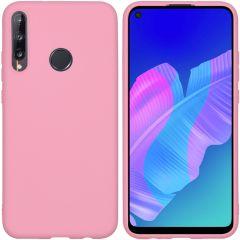 iMoshion Color TPU Hülle Rosa für das Huawei P40 Lite E