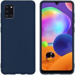 iMoshion Color TPU Hülle für das Samsung Galaxy A31 - Dunkelblau
