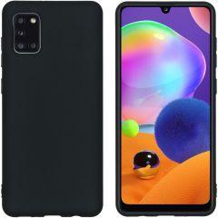 iMoshion Color TPU Hülle für das Samsung Galaxy A31 - Schwarz