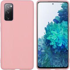 iMoshion Color TPU Hülle für das Samsung Galaxy S20 FE - Rosa