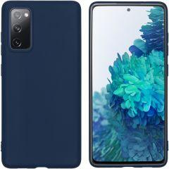 iMoshion Color TPU Hülle für das Samsung Galaxy S20 FE - Dunkelblau