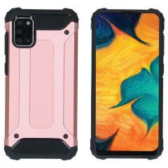 iMoshion Rugged Xtreme Case Samsung Galaxy A31 - Roségold
