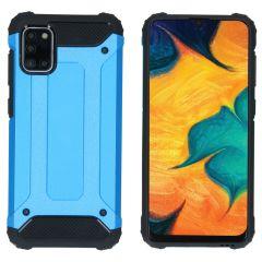 iMoshion Rugged Xtreme Case Samsung Galaxy A31 - Hellblau