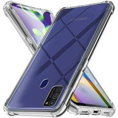 iMoshion Shockproof Case für das Samsung Galaxy A21s - Transparent