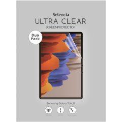 Selencia Duo Pack Screenprotector Samsung Galaxy Tab S7