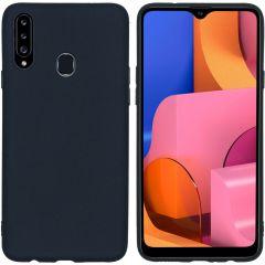 iMoshion Color TPU Hülle für das Samsung Galaxy A20s - Schwarz