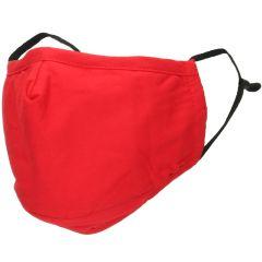 iMoshion Waschbarer Mundschutz aus 3-lagigem Baumwollgewebe - Rot