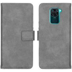 iMoshion Luxuriöse Buchtyp-Hülle Xiaomi Redmi Note 9 - Grau
