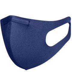 Blackspade Waschbarer Mundschutz für Erwachsene aus Stretch-Blau