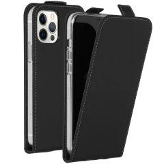 Accezz Flip Case Schwarz für das iPhone 12 (Pro)