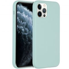 Accezz Liquid Silikoncase  für das iPhone 12 (Pro) - Sky Blue