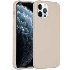 Accezz Liquid Silikoncase  für das iPhone 12 (Pro) - Stone