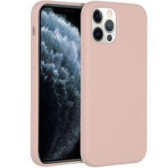 Accezz Liquid Silikoncase für das iPhone 12 (Pro) - Rosa