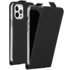 Accezz Flip Case Schwarz für das iPhone 12 Pro Max
