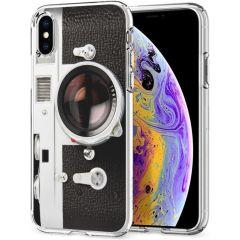 iMoshion Design Hülle iPhone Xs / X - Classic Camera