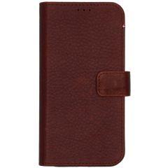 Decoded 2 in 1 Leather Booktype für das iPhone 12 (Pro) - Braun