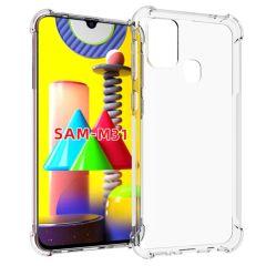 iMoshion Shockproof Case für das Samsung Galaxy M31 - Transparent