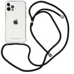 iMoshion Backcover mit Band iPhone 12 (Pro) - Schwarz