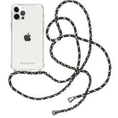 iMoshion Backcover mit Band iPhone 12 (Pro) - Grün