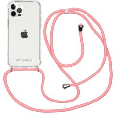 iMoshion Backcover mit Band iPhone 12 (Pro) - Rosa