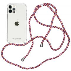 iMoshion Backcover mit Band iPhone 12 (Pro) - Violett