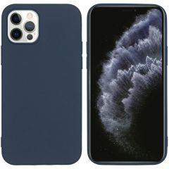 iMoshion Color TPU Hülle für das iPhone 12 (Pro) - Dunkelblau